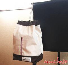 【簡単手作りキット】帆布バケツショルダー/ブラウン