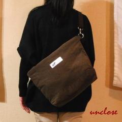【簡単手作りキット】コーデュロイで作るデカ2WAYバッグ