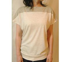 【キット】オーガニックコットンで作る切替フレンチTシャツ