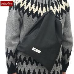 【巾着バッグ】ドロストショルダーバッグ・グレンチェックGR