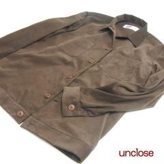 型紙/メンズ・ワークシャツジャケット