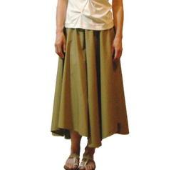 【キット】タイプライタークロスで作るパネルロングフレアースカート