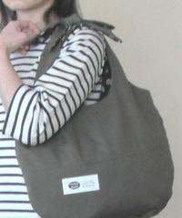 【簡単手作りキット】帆布で作るリボントートバッグ