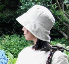 【簡単手作りキット】フレンチリネンで作るリバーシブルハット