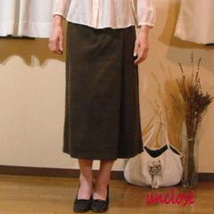 【キット】コーデュロイで作るラップ風スカート