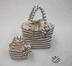 【簡単手作りキット】親子のミニトートバッグ