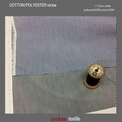 生地/TCシャツストライプ(50cm単位)