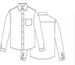 【型紙】メンズシャツ