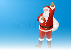 No412 クリスマス サンタクロース