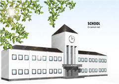 No.68 学校 【EPS】