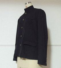 学ラン(簡易式)詰襟 男性LLサイズ【ダウンロード型紙】