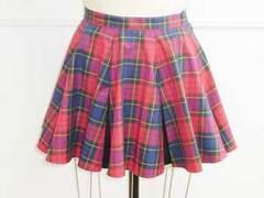 円形8ボックスプリーツスカート Mサイズ【ダウンロード型紙】