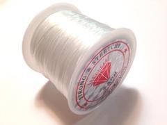 ◆ブレスレットのゴム◆繊維状の平ゴム