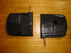 パッチワーク(ハーフ寸)財布
