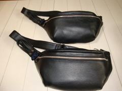 鹿革(エルク革)belt bag