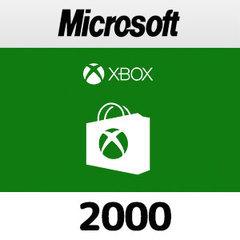 Xboxプリペイドカード(2,000円)