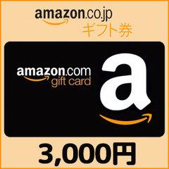 Amazonギフト Eメールタイプ(3,000円)