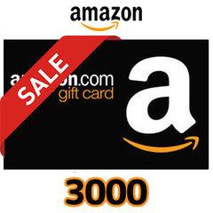 [期間限定]Amazonギフト Eメールタイプ(3,000円)