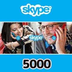 Skypeプリペイドカード(5,000円)