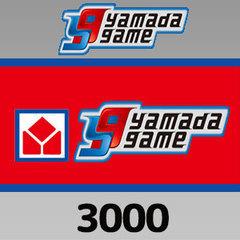 ヤマダゲームマネー(3,000円)