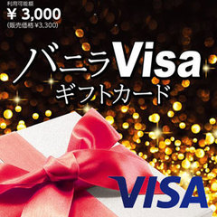 バニラVisaギフトカード(3,300円)