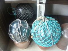 ガラス 浮き球(中)