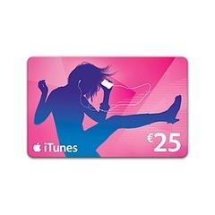 スペイン iTunes カード 25