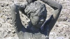 DRK12BDMW泥んこ体験その12 猛暑編