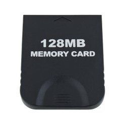 大容量【2043ブロック/128MB】Wii/ゲームキューブ対応 メモリーカード