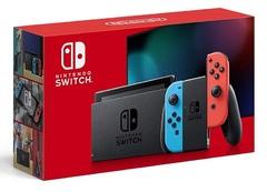 Nintendo Switch Joy-Con(L) ネオンブルー/(R) ネオンレッド(バッテリー持続時間が長くなったモデル)