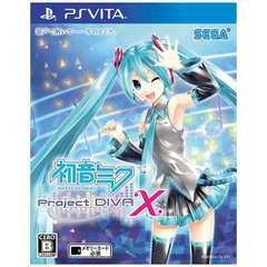 初音ミク -Project DIVA- X【PS Vitaゲームソフト】