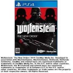 ウルフェンシュタイン:ザ ニューオーダー【PS4ゲームソフト】