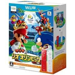 マリオ&ソニック AT リオオリンピックTM Wiiリモコンプラスセット(アカ・シロ)【Wii Uゲームソフト】