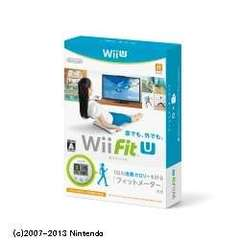 Wii Fit U フィットメーターセット【Wii Uゲームソフト】