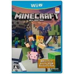 MINECRAFT: Wii U EDITION【Wii Uゲームソフト】
