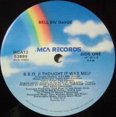 BELL BIV DeVOE / B.B.D. (I THOUGHT IT WAS ME)?