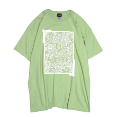 Square Mexican Skull T-Shirts