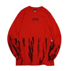 Tie-dye Cactus Flower L/S T-Shirts(L.E)