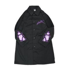 Rose Skull Duster Coat