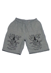 Candle Mexican Skull Short Pants