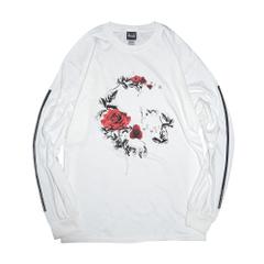 Rose Arrange Skull L/S T-Shirts