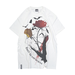 Bat Rose T-Shirts