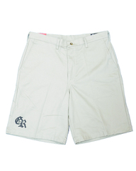Logo Short Pants - Beige