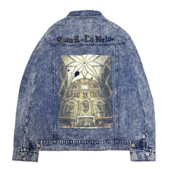 Chemical wash Denim Jacket