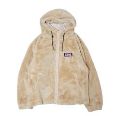 Micro Fur Zip Parka