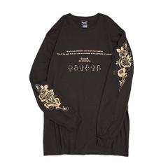 Messege Rose Sleeve L/S T-Shirts