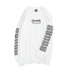 Box Logo Sleeve L/S T-Shirts
