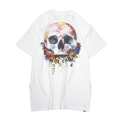 Rose Earth Skull T-Shirts