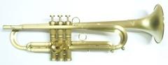 """【新商品!】Queen Brass(クイーンブラス)Bbトランペット 日野皓正""""Hino""""モデル・ライトウェイトモデル・サテンラッカー仕上げ"""