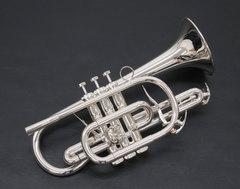 [新商品!] Brasspire unicorn(ブラスパイア) BPCT-B4S B♭管コルネット 銀メッキ